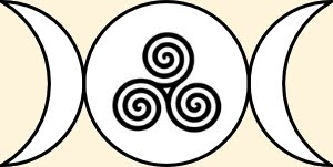 triple moon goddess