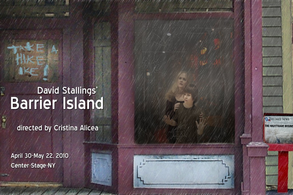 Barrier Island Postcard Front