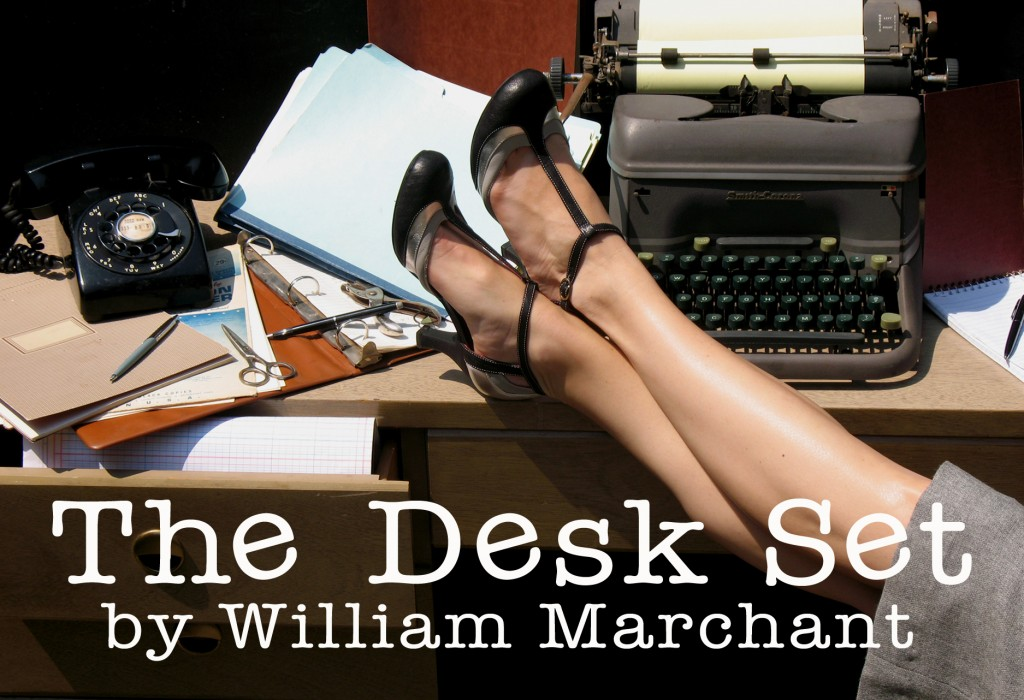 Desk Set Postcard