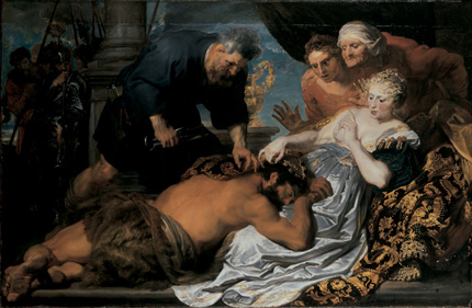 Samson and Delilah / Oil on canvas  Sir Anthony Van Dyck (1599–1641)