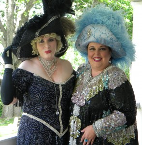 Anne Marie Finnie as Mae West and Maggie Worsdale as Sophie Tucker - The Last of the Red Hot Mammas!