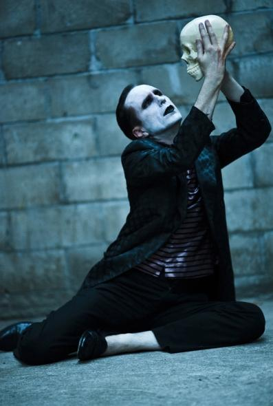 Bill Connington as Hamlet (photo by Beau Allulli)