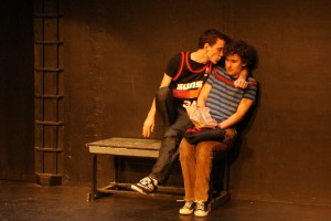 Paul Herbig as Tommy and Richard Altmanshofer as Donnie (Photo Credit Nicole Gehring)