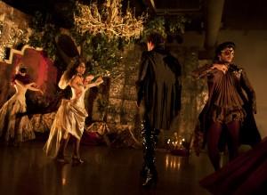 The Company XIV ensemble Dénouement—A Murderous Masquerade (Photographer: Corey Tatarczuk)