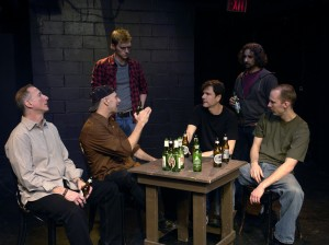 Age Out featuring Seated L-R, Nicholas John Mazza, Peter Welch, Bob Homeyer, Oliver Thrun Standing L-R, Michael Wetherbee, Patrick Pizzolorusso (Photo by Peter Welch)