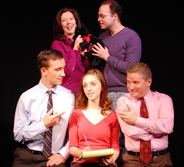 Clockwise from top left: Virginia Bartholomew, Leo Goodman, Chris Davis, Laura Yost, Timothy J. Cox (Photo by Nick Ronan)