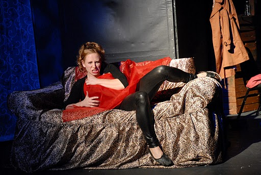 Jennifer Lieberman in Year of the Slut (Photo by Lindsay Goldman)
