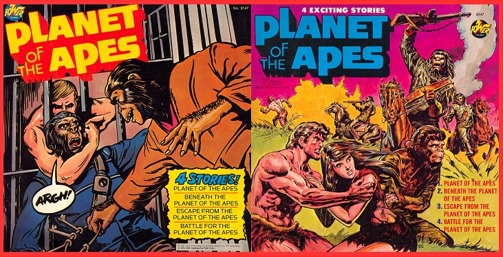 Planet of the Apes Power Records